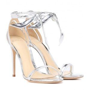 NWB Alexandre Birman Clarita Silver Sandal 40 / 10